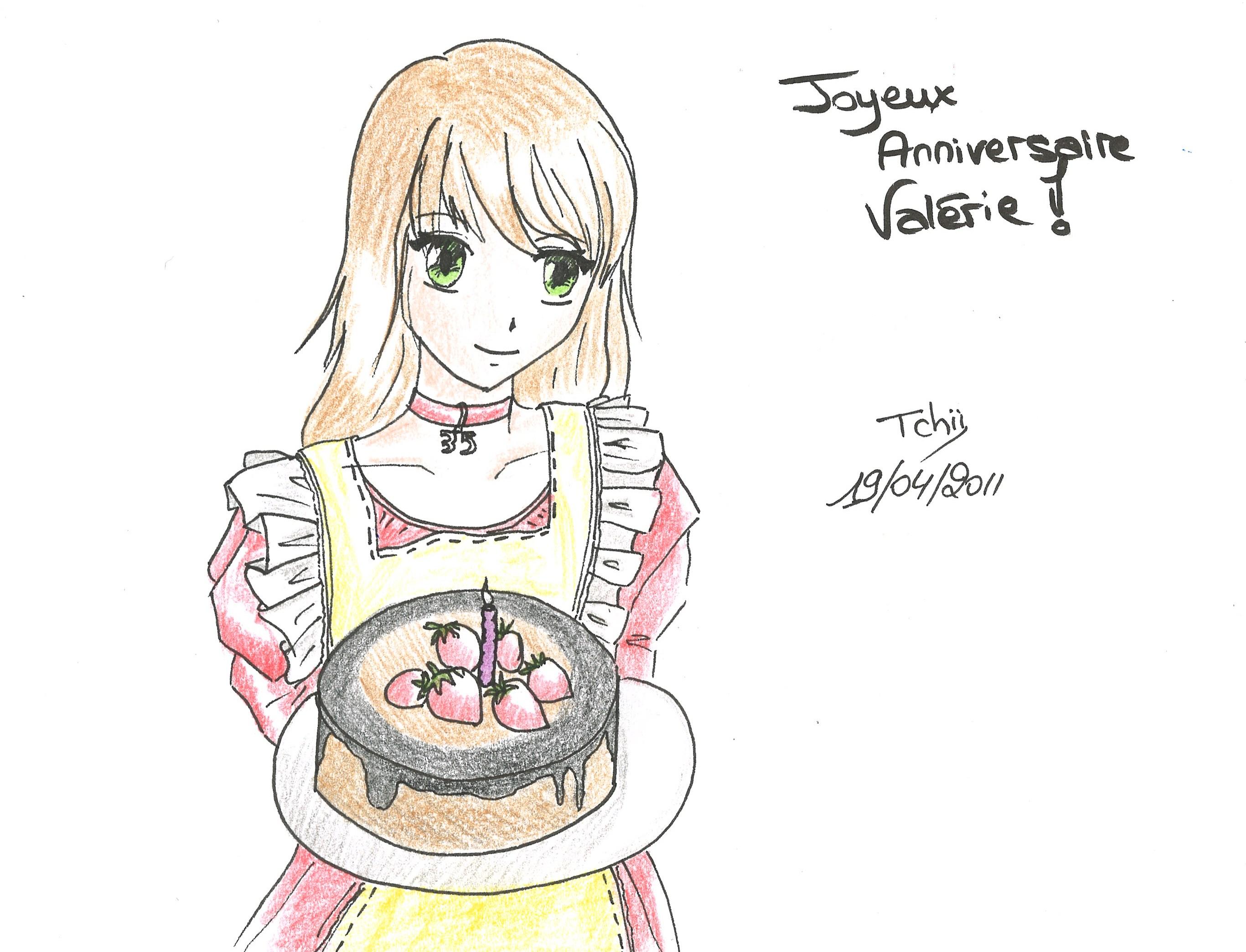Dessin manga anniversaire - Dessin d anniversaire facile ...
